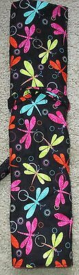 Knitting Needle / Crochet Hook Roll up Organizer  butterfly , dragonfly prints