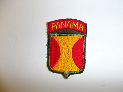b5375 US Panama Canal Department patch officer OD R9A
