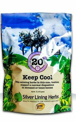 SILVER LINING HERBS #20 Keep Cool Normal Nerve Impulse Horse Equine 1 Pound
