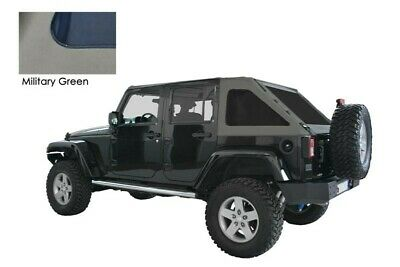 Copertura Soft Top Jeep Wrangler JK 4 porte military green