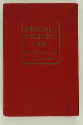 A Guide Book of United States Coins 18th Ed RS Yeoman Red Book 1965
