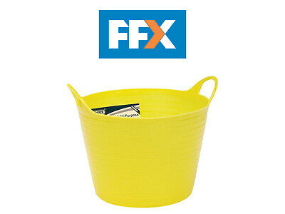 DRAPER 22302 15L Multi Purpose Flexible Bucket - Yellow