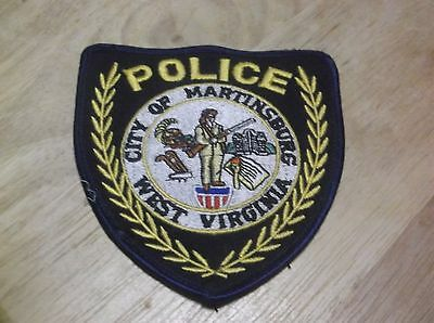 CR7) Martinsburg West Virginia Police Patch