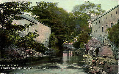 Longford. Camlin River from Longford Bridge # 594/18 by Reliable for Stoker, L~.