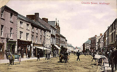 Mullingar, Co. Westmeath. Greville Street # 46117 by Valentine's.