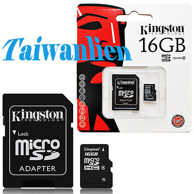Kingston 16GB 16G Class 4 Micro SD Micro SDHC MicroSD TF Flash Memory Card