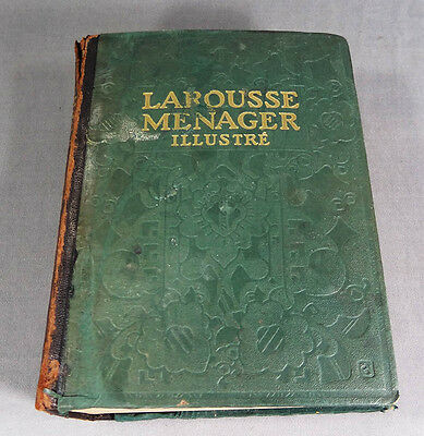 LAROUSSE DOMESTIQUE MENAGER 1926 ILLUSTRE Encyclopedia French ILLUSTRATED BOOK