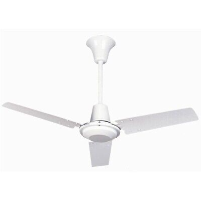"""Fantasia 56"""" Commercial Ceiling Fan White Variable Speed Quiet Low Energy"""
