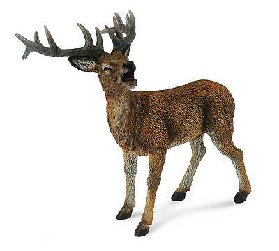 RED DEER STAG - # 88469~realistic  replica Ships free w/ $25+ CollectA