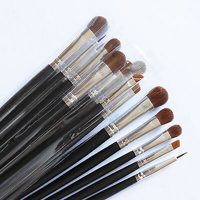 Lot Of 15 Pcs Cosmetic MakeUp Brushes Full Size Eyeshadow Liner Brush Set New