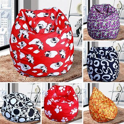Unisex New BeanBag Indoor Bean Bag Sofa Lounge Chair Free Shipping Gifts