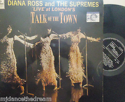 DIANA ROSS & SUPREMES - Live At Talk Of The Town ~ VINYL LP