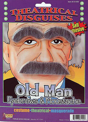 Theatrical Disguises Moustache Series - Old Man / Albert Einstein