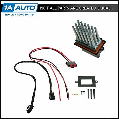 jeep grand cherokee commander ac heater blower motor resistor oem blower motor resistor wiring harness upgrade kit for jeep grand cherokee new