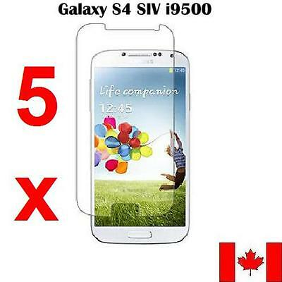 5X Premium Ultra Clear Screen Protector For Samsung Galaxy S4
