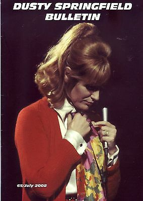 Dusty Springfield Bulletin July 2008 No 65