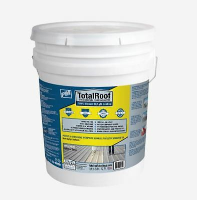 Total Roof 100% Silicone Roof Coating 5 Gallon