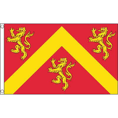 Anglesey Flag 5Ft X 3Ft Wales Welsh County Banner With 2 Metal Eyelets New