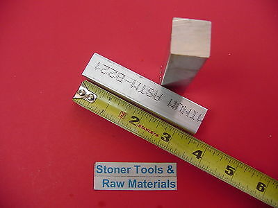 "20 Pieces 3/4"" X 3/4"" ALUMINUM 6061 SQUARE BAR 3.5"" long T6511 New Mill Stock"