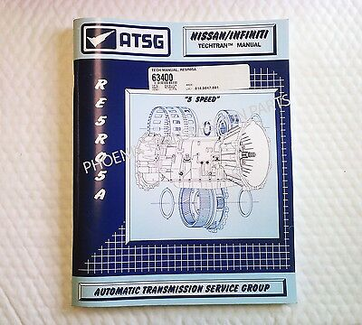 RE5R05A  RE5RO5A Transmission ATSG Technical Manual for Service and Repair