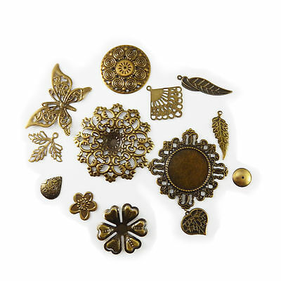 Wholesale New Assorted Mixed Jewelry Accessories Metal Charms Pendants