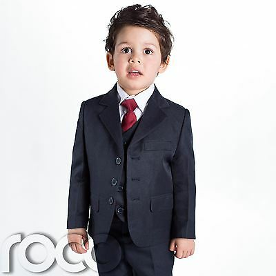Baby Boys Navy Suit, Page Boy Suits, Baby Boys Wedding Suit, 1 - 14 years