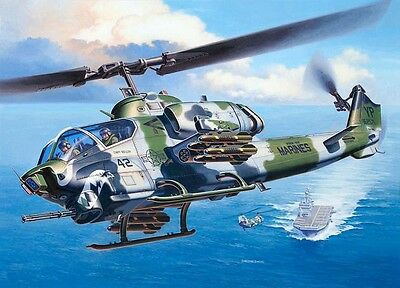 Revell - 04943 - Bell AH-1W SuperCobra - 1:48 Plastic Aircraft  Kit