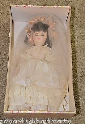 """Effanbee Beautiful  18"""" Collectible Porcelain Doll Westminister Cathedral"""