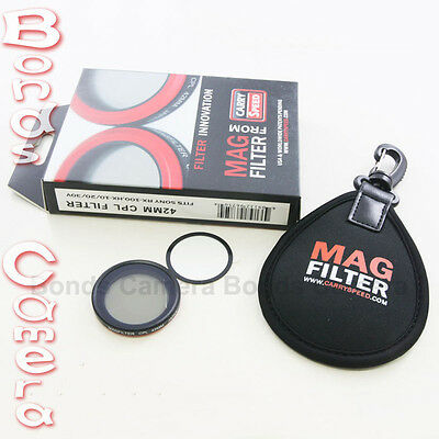 MagFilter 42mm CPL Circular Polarizer Filter for Sony DSC RX100 V HX9V HX30/20V