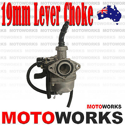 PZ 19mm Lever Choke Carburetor Carby 70cc 110cc 125CC ATV QUAD Dirt Bike Buggy