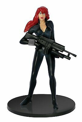 Black Widow PVC Figure makes a great cake topper or a fun toy! 4 inches tall