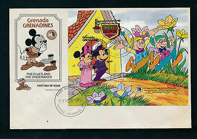 Brief aus Grenada, Mickey Mous, Disney  13/4/15