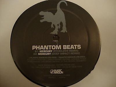 "Phantom Beats Mercury 12"" Vinyl Single"