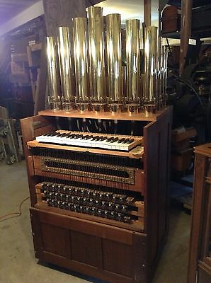 """Tangley Calliaphone Circus Organ Plays Nickelodeon """"A"""" Roll 43 Note Brass Pipes"""