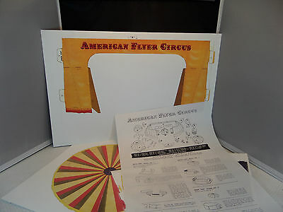 American Flyer Reproduction Cardboard Circus Set - NEW