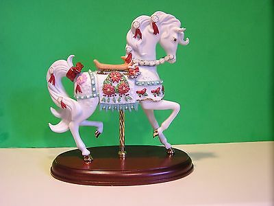 LENOX 2005 CHRISTMAS CAROUSEL HORSE sculpture NEW in BOX with COA