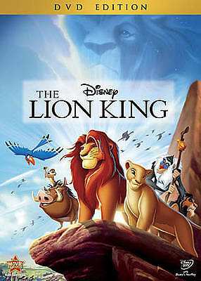 The Lion King (DVD, 2011) like new!!!