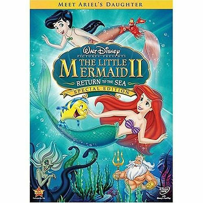 Little Mermaid II, The: Return to the Sea (DVD, 2008, Special Edition)