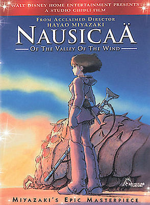 Nausicaa of the Valley of the Wind (DVD, 2-Disc Set) LIKE NEW!