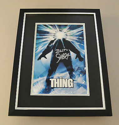 John Carpenter Signed Framed 16x12 Photo Display The Thing Autograph Memorabilia