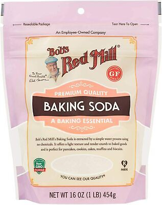 Bob's Red Mill Pure Baking Soda 450g *Gluten Free, All Natural*