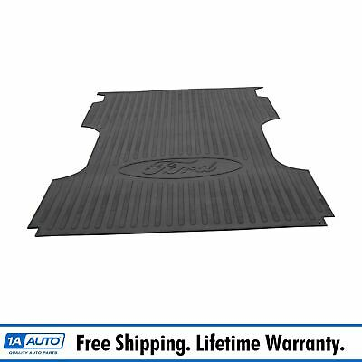 OEM Truck Bed Mat Protector Liner 8 Foot Black Rubber for 99-15 Ford Super Duty