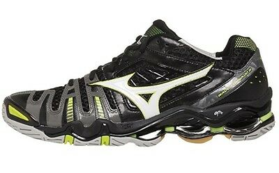 Mizuno Wave Tornado 8 Mens Black White Volleyball Shoes 430154.9000 NEW