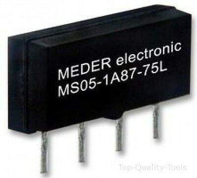 RELAY, REED, MICROSIL, 5VDC Part # STANDEXMEDER MS05-1A87-75L