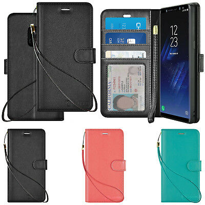 Luxury Samsung Galaxy S8 / S9 Plus / Note 9 / Note 8 Cover Leather Wallet Case