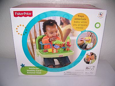 Fisher Price Rainforest Healthy Care Booster Chair New