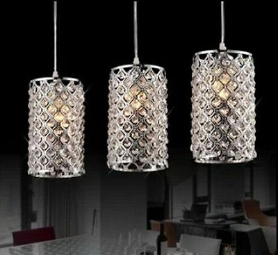 New Modern Lighting Crystal Bar Ceiling Light Pendant Lamp light Diningroom hall