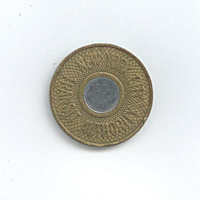 Medaille New York City Transit Authority good for one fare Ø 22 mm 4 Gr. A8/202
