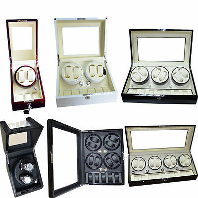 Watch Rotator Box Storage Case Kinetic Spring Watches Winder Various Models