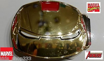 IRON MAN ! Belt Buckle Full metal HQ NEW cosplay or just wear US Seller Awesome